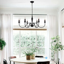 Rustic Chandelier French Country Farmhouse Lighting Dining Room Light Fixture US $78.00