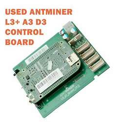 L3 A3 D3 Control Board Without Cable for Bitmain Antminer mining working fine $94.99