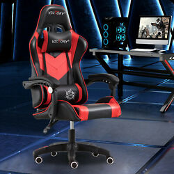 NEW Gaming Chair W Headrest amp; Lumbar Support Office Chair Computer Chair $72.99