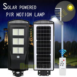 250W Auto Solar LED Street Light Commercial Outdoor IP67 Area Security Road Lamp
