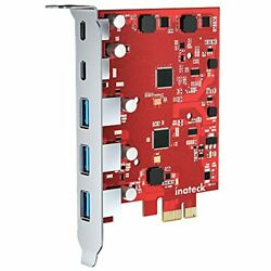 Inateck PCIe to USB Extension Card with 3 USB A Ports and 2 USB C Ports 8 Gbp... $46.55