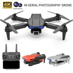 K3 Quadcopter WIFI FPV 4K HD Professional Wide Angle CameraHold Foldable Drone $31.59