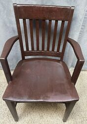 Antique Bankers Chair $65.00
