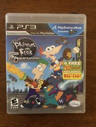Phineas and Ferb: Across the 2nd Dimension Sony PlayStation 3 2011 $8.00