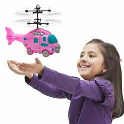 Flying Ball Drone Helicopter Toys for Kids Girls Boys GiftPink Rc Flying Fair... $25.64