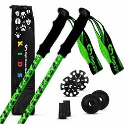 High Stream Gear Kids Trekking Poles – Collapsible Telescopic Brightly Colore... $50.26
