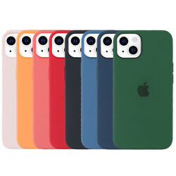 For iPhone 13 Pro MaxProMini Case Liquid Silicone Shockproof Slim Phone Cover $12.99