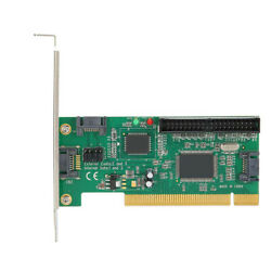 PCI to ATA SATAIDE Controller Expansion Card Adapter Converter Fast Speed $18.99