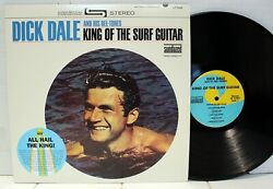 Rare Surf LP Dick Dale And His Del Tones King Of The Surf Guitar Sundazed $19.99