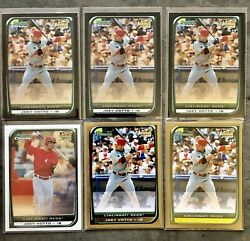 Lot of 6 Joey Votto RC 2008 Bowman Chrome Paper amp; Gold #194 #9 Reds Rookie Card $55.00