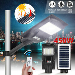 9999990LM Solar LED Street Light Commercial Outdoor IP67 Area Security Roa