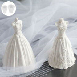 DIY Wedding Dress Candle Mould Soap Aromatherapy Candle Mold Wax Craft Making... $15.68