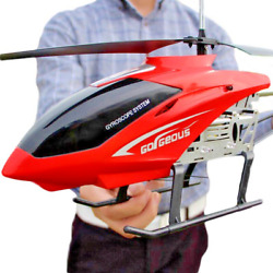 RC Helicopter 3.5CH 80cm Large Remote Control Anti Fall Aircraft UAV Toy Drone $111.99