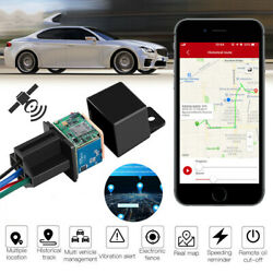 Anti theft GPS Car Tracker Real Time Device Locator Remote Control Hidden 10 40V $16.99