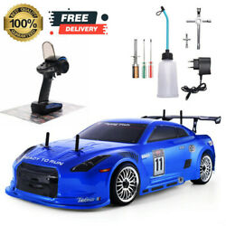Car Gas Rc Nitro Power 4wd 1:10 Road Speed Scale Remote Off Control Truck Racing $279.99