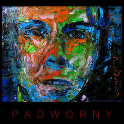 ABSTRACT MODERN█ORIGINAL█OIL█PAINTING█EXPRESSIONIST ART PORTRAIT OF MAN GUY BOY $350.00