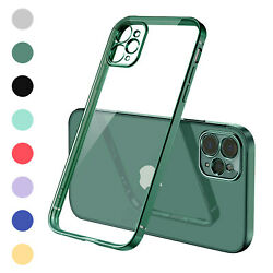 For iPhone 13 12 Pro Max 11 XR XS 87Plus Shockproof Bumper Clear Case Slim Cover $7.06