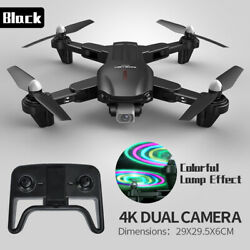 Drone RC Drones Pro 4K HD Camera GPS WIFI Quadcopter Altitude Hold Mode Foldable $58.89