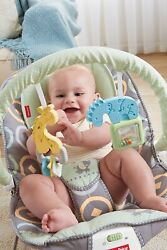 Fisher Price Baby Bouncer Luminosity 3month max 20lb 9kg $38.99
