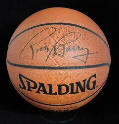 Rick Barry Signed Spalding Indoor Outdoor Basketball JSA Authenticated $124.99