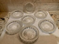 vintage crystal glass chandelier bobeche candle cups $29.00
