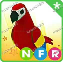 quot;Roblox Adopt me pet NFR Neon Fly Ride Parrot $41.71
