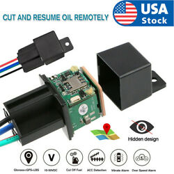 GPS Car Tracker Real Time Device Locator Remote Control Anti theft Hidden Relay $19.58