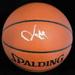 Damon Stoudamire Signed Spalding Indoor Outdoor Basketball JSA Authenticated $74.99