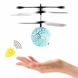 Flash Hand Flying UFO Ball LED Induction Suspension RC Helicopter Kids Toy Gifts $7.99