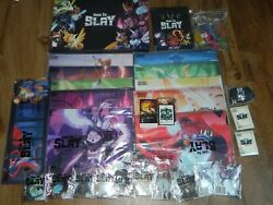Unstable Unicorns Here to Slay Collectors Set Game Meeples Mats Etc New $649.95