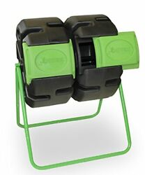 FCMP Outdoor Dual Body Tumbling Composter by HOTFROG $165.61