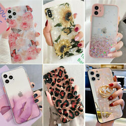 Bling Glitter Case Girl Phone Cover for iPhone 13 Pro Max 12 11 8 Plus XR XS Max $7.98