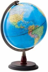 HearthSong 12quot; LED Light Up World Globe with No Tip Weighted Base $22.00