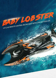 RC Electric Racing Boat 2.4G Remote Control High Speed Boat for Pool River JJRC $31.99