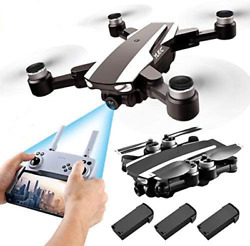 S105 PRO Drone GPS 5G Wifi Professional 4K HD Double Camera Brushless Motor Dron $197.45