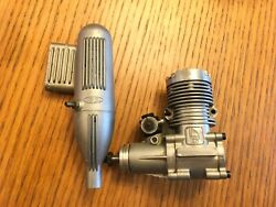 HB RC Engine .40 German Made Without Box. Glow airplane motor. Helmut Bernhardt $48.00
