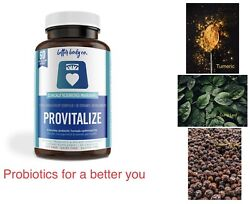 Provitalize Probiotic Weight Management Bloating Hot Flashes Low Energy $27.99