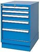 Lista Xsmp0600 0501 Mp600 5 Drawer Bench Height Storage Cabinet