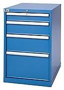 Lista Xsmp0750 0402 Mp750 4 Drawer Bench Height Storage Cabinet