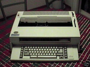 Refurb Ibm Wheelwriter 3 Ii Typewriter W 120 Day Warran