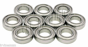 10 Ceramic Ball Bearing Shielded 3 X 6 X 2 5 Mm 3x6