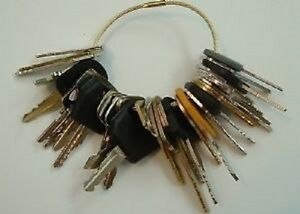 33 Keys Heavy Construction Equipment Key Set New