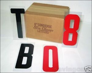 6 Letters On 6 7 8 Changeable Flex Panel For Portable Marquee Signs