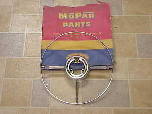 1951 1952 1953 Desoto Nos Mopar 1326904 3 Spoke Horn Ring