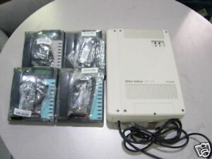 Small Used Toshiba 4 line Telephone Dk 16 Phone System