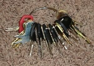 21 Keys Heavy Construction Equipment Key Set New