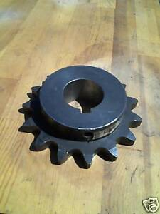 Roller Chain Sprocket 100 15 T 2 1 8 Bore 100bs15