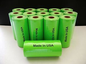 One Case Of Green Labels For Monarch 1110 1105 1107