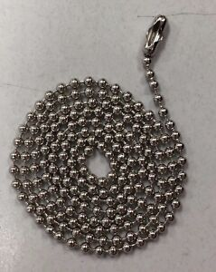 600 Stainless Steel Ball Chains 24 Dog Tag Bead Chain