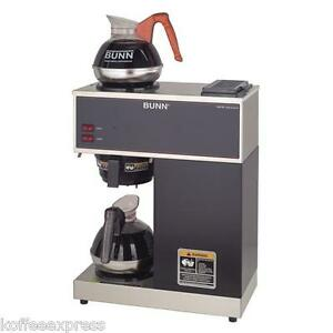 Bunn Vpr Pourover Coffee Maker With 2 Warmers New